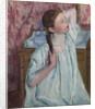 Girl Arranging Her Hair by Mary Stevenson Cassatt