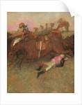 Scene from the Steeplechase: The Fallen Jockey by Edgar Degas