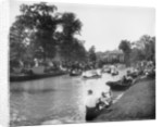 Band concert on Grand Canal, Belle Isle Park by Anonymous