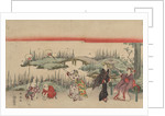 Catching Fireflies by Katsukawa Shunsen
