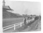Finish of the one mile race, Derby Day 1901, Louisville, Kentucky by Detroit Publishing Co.