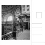Library of Congress, gallery of the Rotunda by Detroit Publishing Co.
