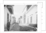 A Residence street, San Juan, Puerto Rico by Detroit Publishing Co.