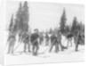 A Ski Brigade by Detroit Publishing Co.