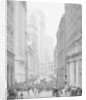 Broad Street, New York City by Detroit Publishing Co.