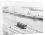 The Harbor, San Pedro, California by Detroit Publishing Co.