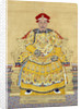 Emperor Qianlong in Old Age by Chinese School