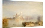 The Dogana and Santa Maria della Salute, Venice by Joseph Mallord William Turner