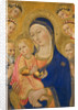 Madonna and Child with Saint Jerome, Saint Bernardino, and Angels by Sano di