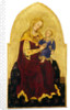 Madonna and Child Enthroned by Gentile da Fabriano