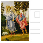 Tobias and the Angel by Filippino Lippi