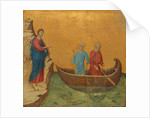 The Calling of the Apostles Peter and Andrew by Duccio di Buoninsegna
