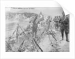 Turkish Infantry Column at rest by Turkish Photographer