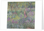 The Artist's Garden in Giverny by Claude Monet
