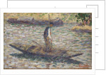 A Fisherman by Georges Pierre Seurat