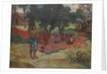 Parau Parau (Whispered Words) by Paul Gauguin