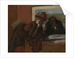 The Conversation by Edgar Degas
