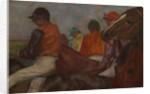 The Jockeys by Edgar Degas