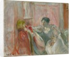 Young Woman and Child by Berthe Morisot