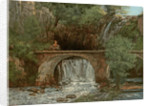 The Great Bridge by Gustave Courbet