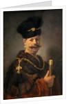 A Polish Nobleman by Rembrandt Harmensz. van Rijn