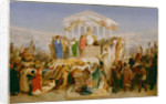 The Age of Augustus, the Birth of Christ by Jean Leon Gerome