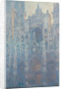 The Portal of Rouen Cathedral in Morning Light by Claude Monet