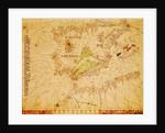 The Iberian Peninsula and the north coast of Africa by Giovanni Xenodocus da Corfu