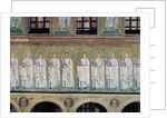 Group of saints and martyrs by Byzantine School
