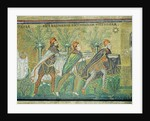 The procession of the three kings by Byzantine School
