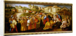 Adoration of the Magi, known as the 'Benintendi Epiphany' by Jacopo Pontormo
