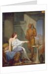 Cleopatra and her Slave by Henri Blaise Francois Dejussieu