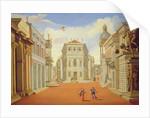 Act II, scenes I and VIII by Giacomo Torelli