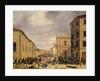 The Battle of 21st March 1849 in the Piazzetta Santa Barnaba in Brescia by Faustino Joli