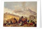 The Battle of Solferino by Italian School