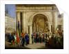 Giuseppe Garibaldi in Vicenza by Italian School