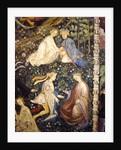 Lovers in a garden in May by Maestro Venceslao
