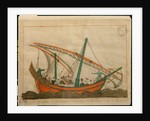 Miniature from the 'Memorie Turchesche' depicting a passenger carrying ship by Venetian School