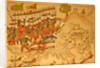 Miniature from the 'Memorie Turchesche' depicting Turkish soliders attacking and capturing the fortress on Limnos by Venetian School
