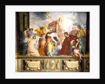 Lorenzo de Medici and Apollo welcome the muses and virtues to Florence by Cecco Bravo