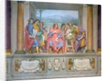 Lorenzo amongst the artists by Ottavio Vannini