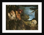 Et in arcadia ego by Guercino
