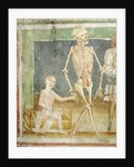 The Dance of Death: Death and the child by Janez Kastav