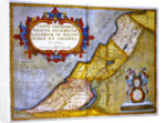 Celebrated places in Judea and Israel by Abraham Ortelius