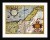 Palestine and the Promised Land by Abraham Ortelius