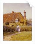 Sunflower Cottage by Helen Allingham