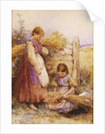 The Young Gleaners by Myles Birket Foster