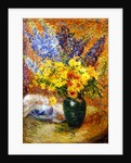 Delphiniums and Chrysanthemums by Anna Boch