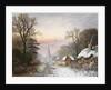 Winter landscape by Charles Leaver