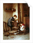 Roasting Chestnuts by Pierre Edouard Frere